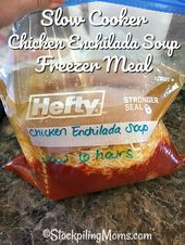 Slow Cooker Chicken Enchilada Soup Freezer Meal ist die perfekte Crockpot-Suppe ... - #chicken #cooker #CrockPot #enchilada #freezer #perfekte #suppe - #Elna'sHühnersuppe #todieforchickenenchiladas Slow Cooker Chicken Enchilada Soup Freezer Meal ist die perfekte Crockpot-Suppe ... - #chicken #cooker #CrockPot #enchilada #freezer #perfekte #suppe - #Elna'sHühnersuppe #todieforchickenenchiladas Slow Cooker Chicken Enchilada Soup Freezer Meal ist die perfekte Crockpot-Suppe ... - #chicken #cooker #todieforchickenenchiladas
