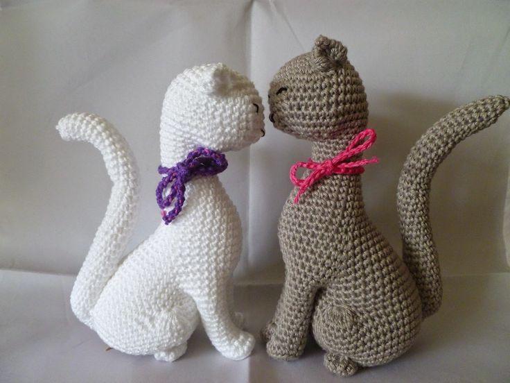 Free Amigurumi Cat : Imagem relacionada bichinhos de crochê pinterest crochet
