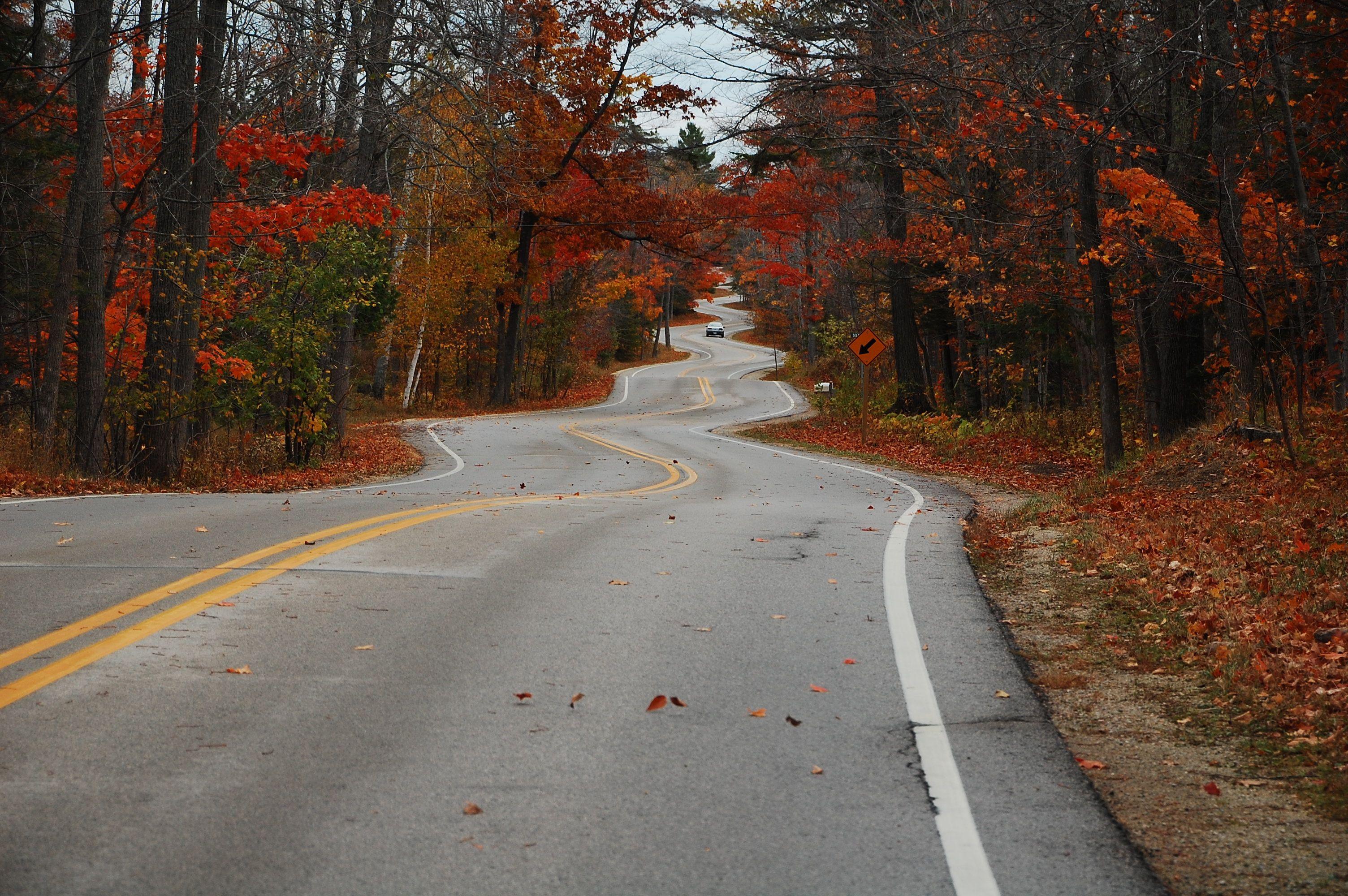 Fan Photo This Scenic Winding Road In Door County