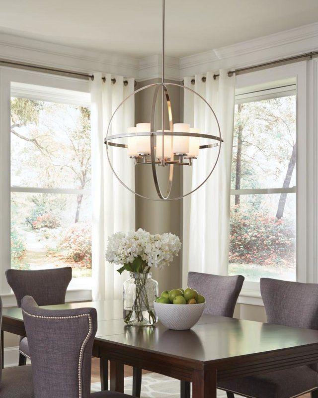 Haworth 5 Light Globe Pendant Dinning Room Lighting Dining Room Light Fixtures Dining Room Chandelier