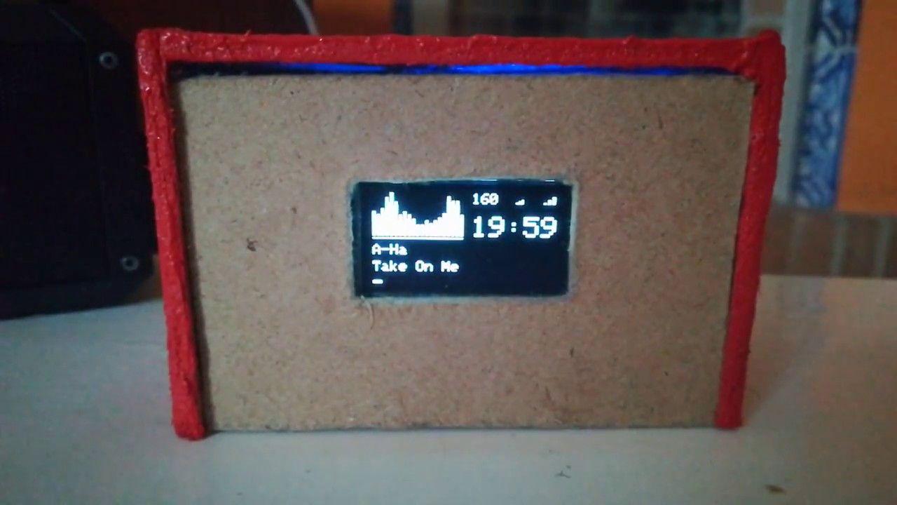 MPD, Volumio, RuneAudio and Moode 128x64 I2C OLED Spectrum Analyser