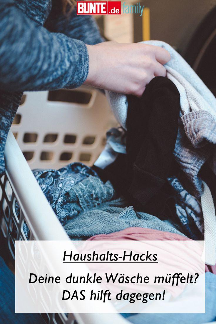 Kleidung Waschen Deine Dunkle Wasche Muffelt Das Hilft Dagegen Wasche Wasche Stinkt Erste Hilfe