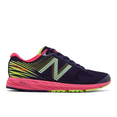 new style 4f3fe 1cb14 New Balance 1400v5 Women's Racing Flats Shoes - Navy/Pink ...