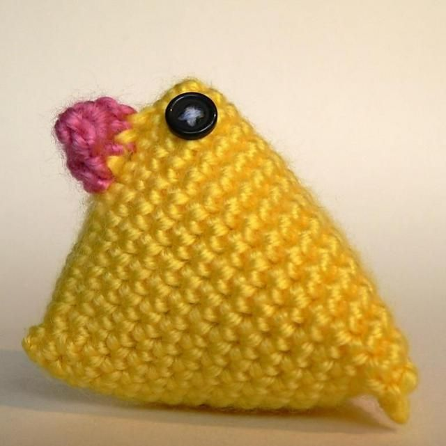 10 Adorable Baby Chick Crochet Patterns for Easter | tejido ...