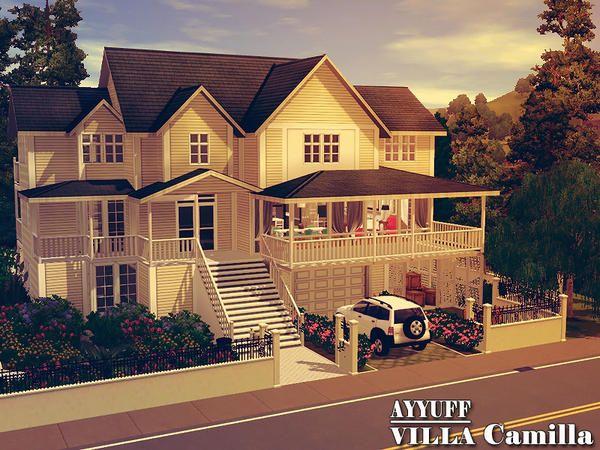 Villa grundriss sims 3  Villa Camilla by Ayyuff / For more daily Sims 3 & 4 pins follow ...