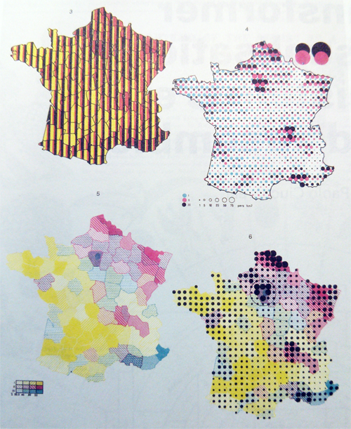 Site Map Diagram: Multidimensional Mapping By Jacques Bertin, 1967