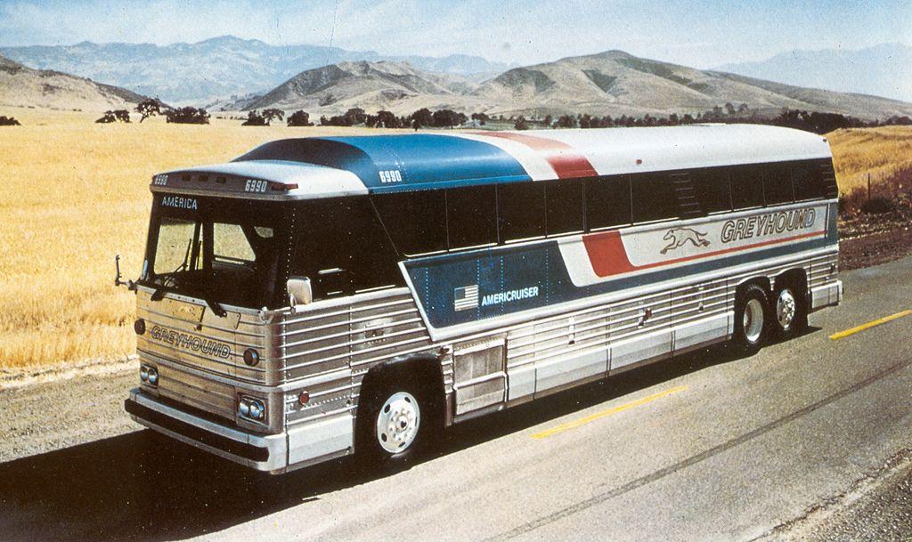 Mc8 Greyhound Bus Bus City Luxury Bus