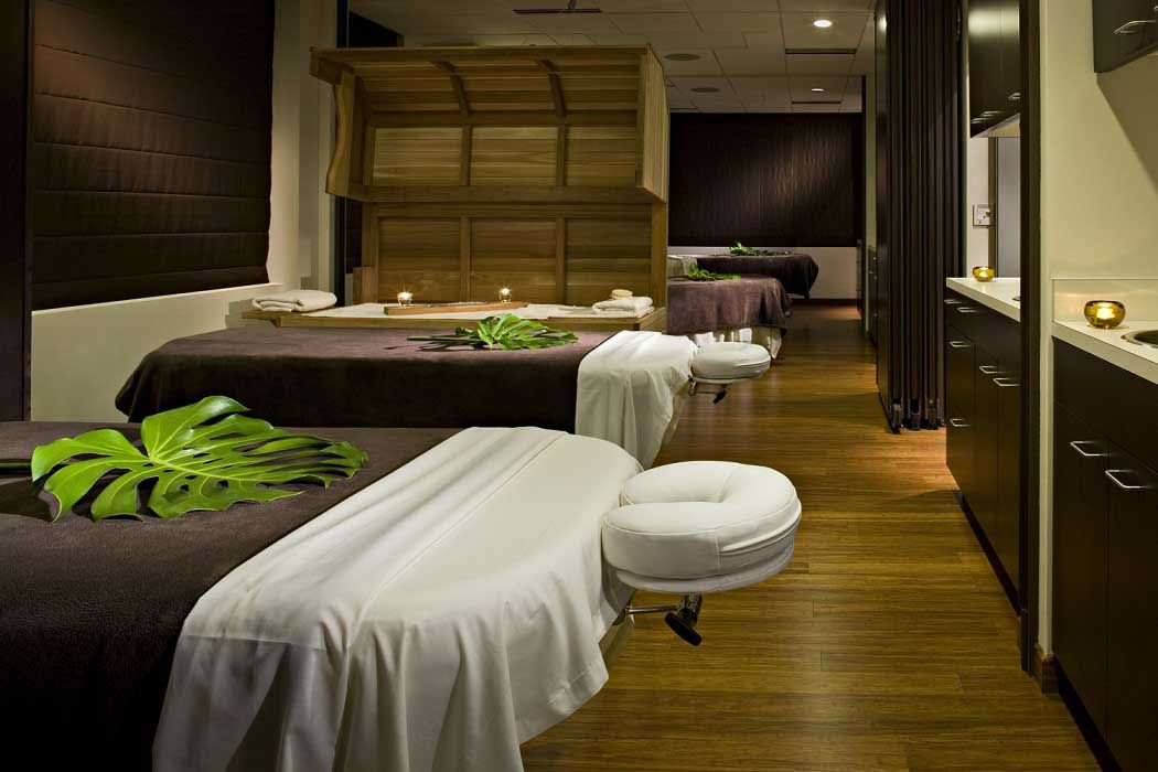 Natural Green Spa Room Decorating And Furniture Ideas