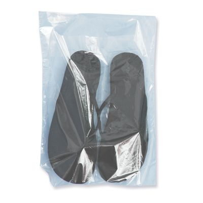 """10x14 + 1"""" Lip Sweater / Shirt Bag Perfect for clothing, like sweaters and shirts, or sandles and scarfs, these 1.25 mil bags have 1"""" lip and 3.5"""" inside flap which holds items inside the bag. #bags #clear #plastic"""