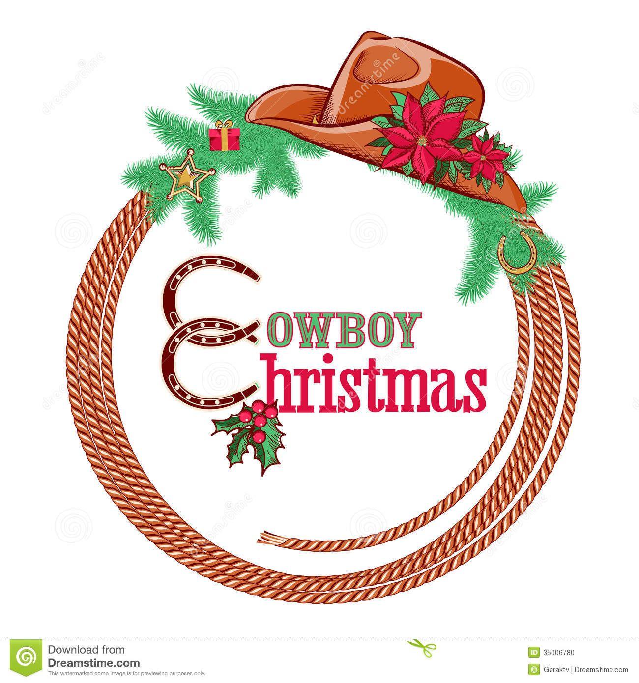 Cowboy Christmas Decor: Free Christmas Free Clip Art Western Theme Cowboy