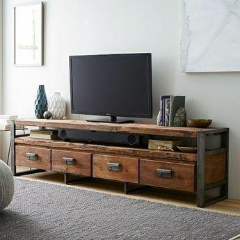 Le meuble t l en 50 photos des id es inspirantes for the home mobilier de salon meuble - Meuble audio ikea ...
