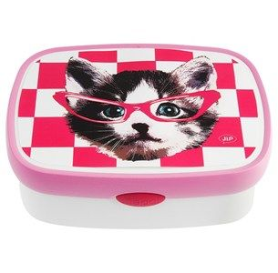 Pink Cat LunchBox