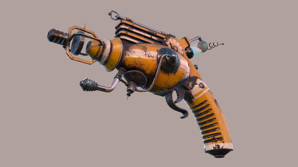 Pin On Ray Gun
