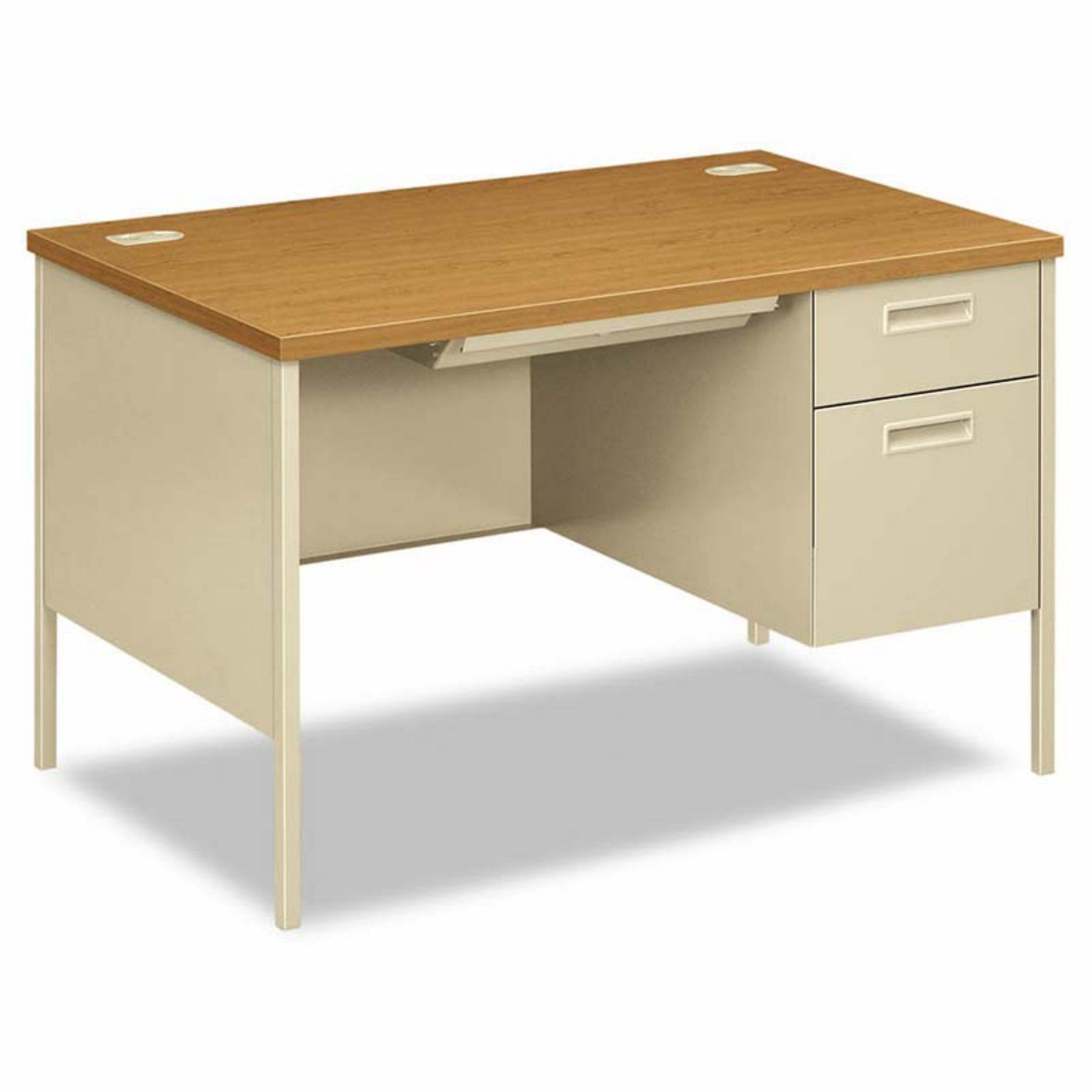 Fantastic furniture hallway table  HON Metro Classic Series Right Pedestal Desk  HONPRCL