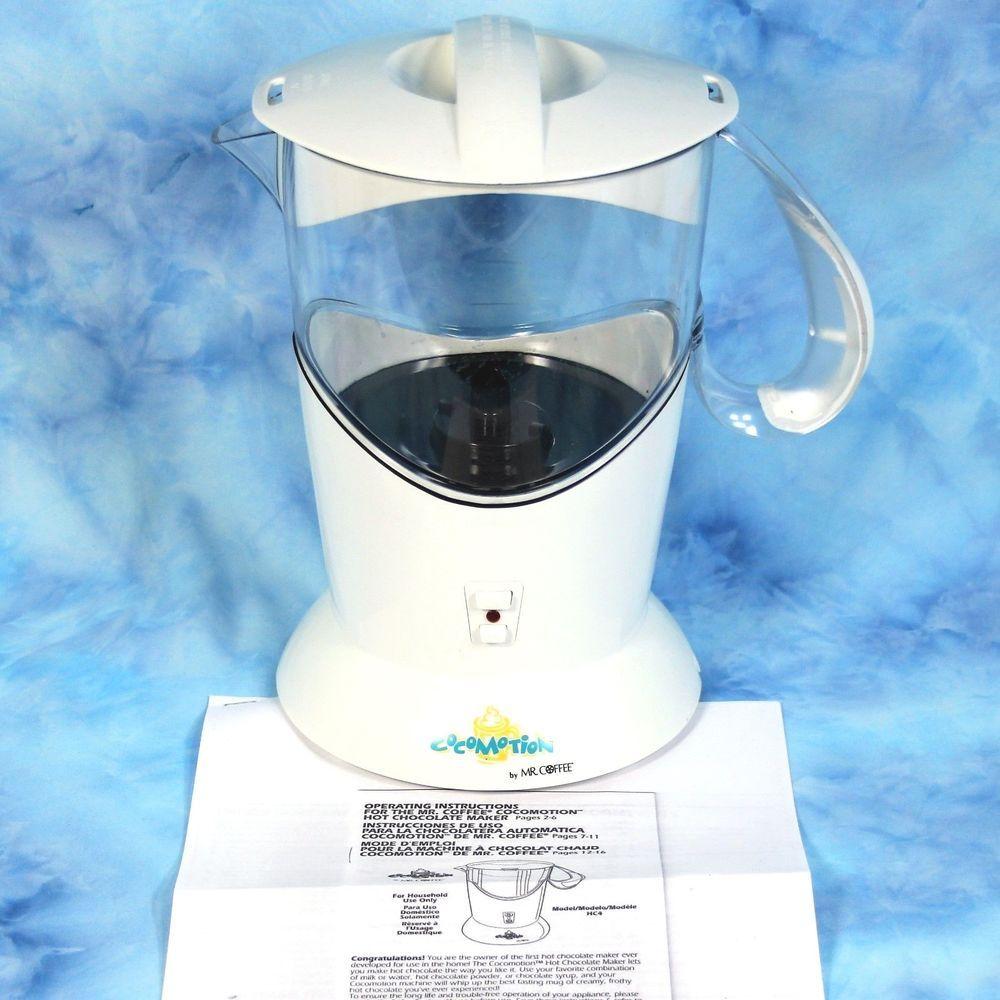 Mr Coffee Automatic Hot Chocolate Maker HC4