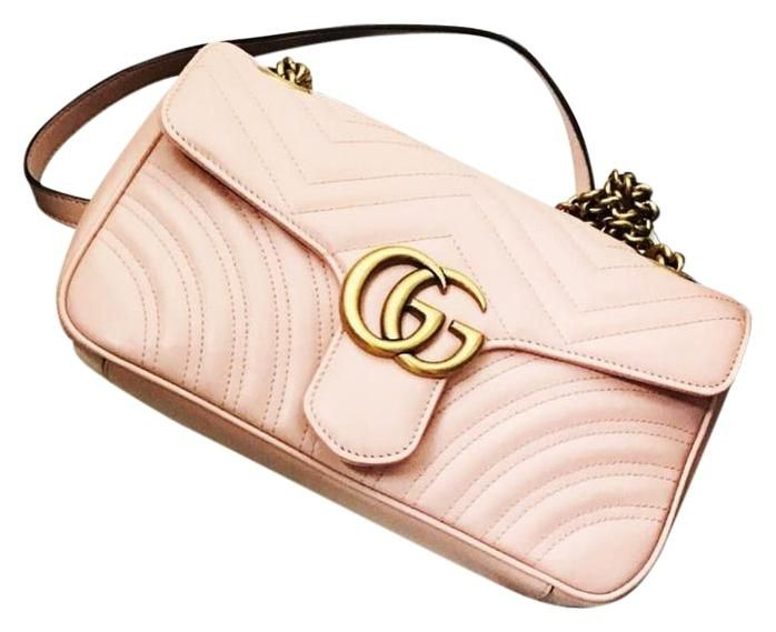 23742d16777 Get one of the hottest styles of the season! The Gucci Gg Marmont Metalasse Shoulder  Bag is a top 10 member favorite on Tradesy.
