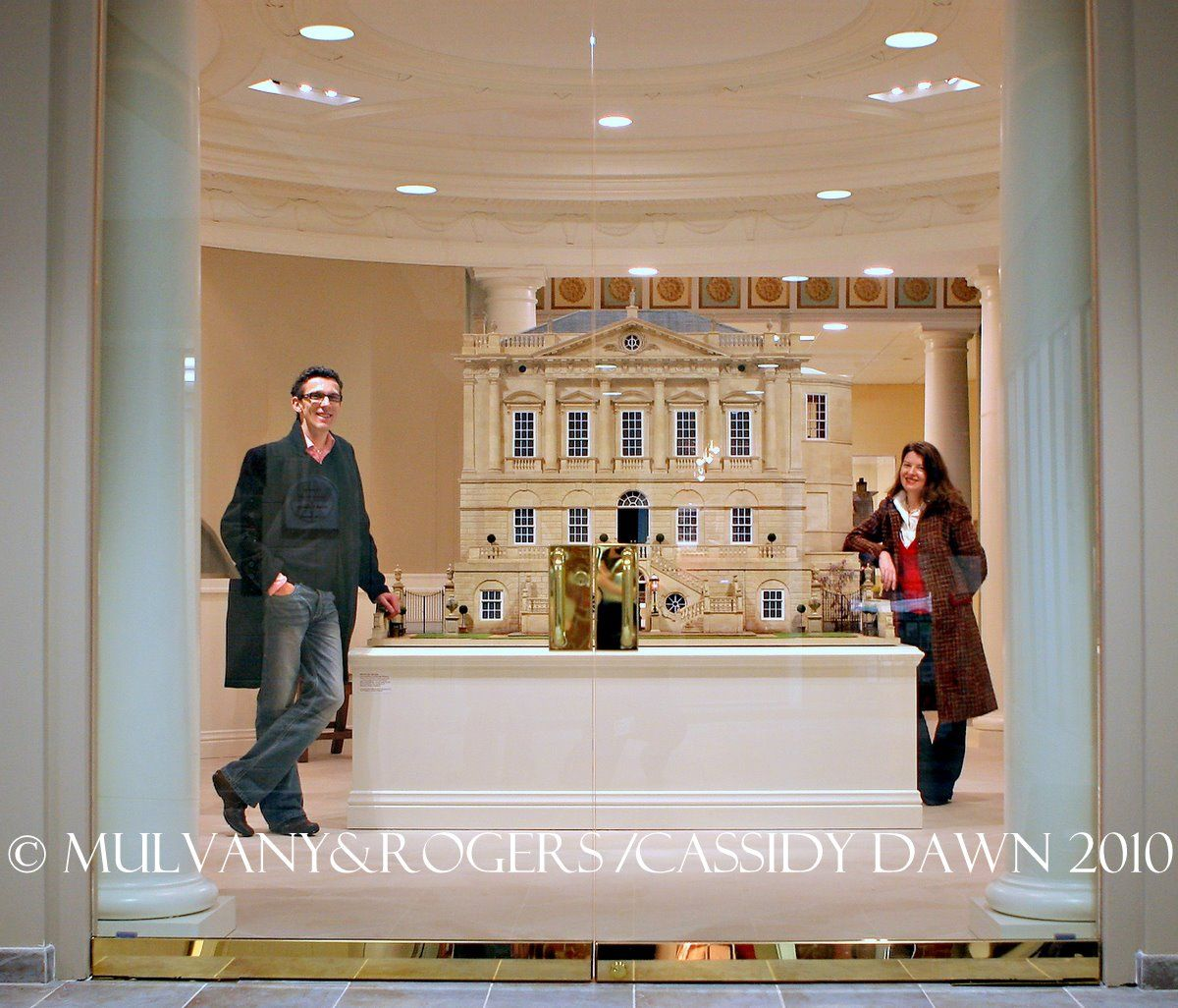 Designer dioramas miniature rooms - Internationally Acclaimed Designers Of One Twelfth Scale Architectural Miniatures And Dolls Houses Mulvany Rogers Re Create Historically Significant