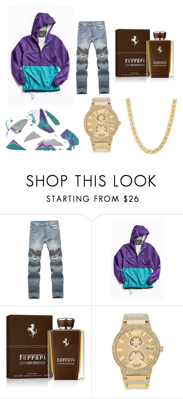 9ee792eafeaf coupon code for womens black grey air jordan 7 vii embroidery f2821 b22a7   switzerland air jordan 7 outfit by raheem card on polyvore featuring  patagonia ...