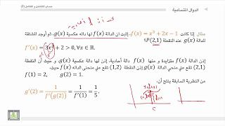 حساب التفاضل و التكامل 2 الوحدة 3 إشتقاق الدالة العكسية Http Ift Tt 2x3bjzh دورة تفاضل و تكامل شرح التفاضل و التكامل 2 كورس التف Math Math Equations Blog