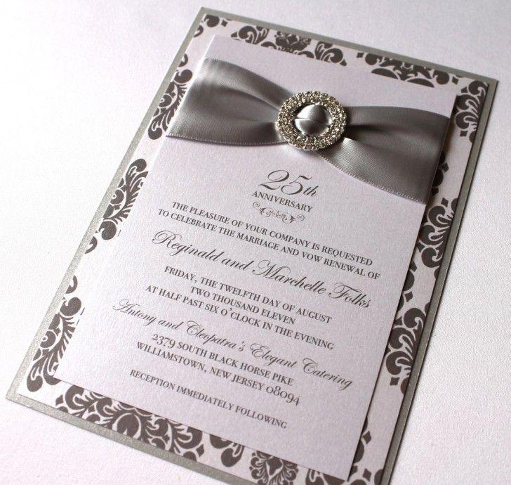 Wedding Card Modern Wedding Anniversary Invitation Card Concept - anniversary invitation template