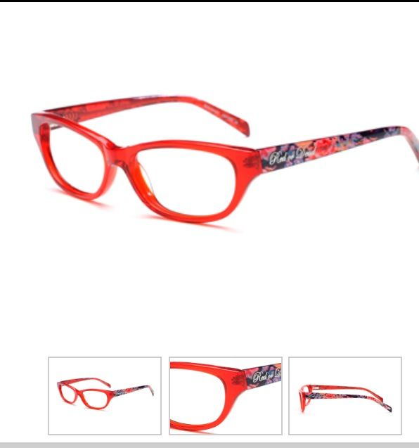 Red or Dead glasses....I own these!