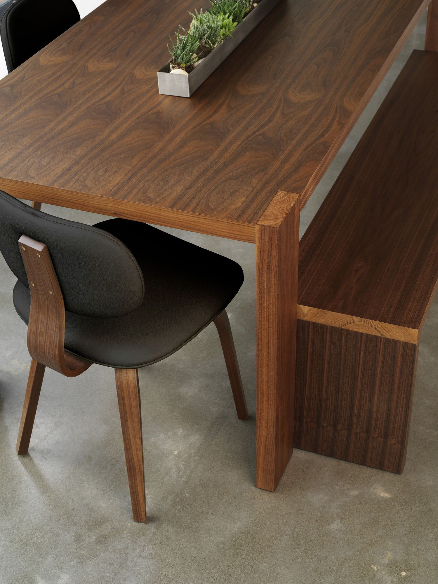 Plank Dining Table With Images Dining Table Design Modern