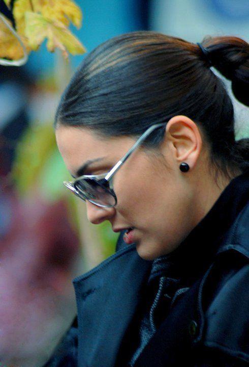Binbir Gece Actresses Pearl Earrings Make Up