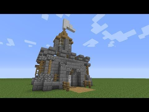 Minecraft How To Build A Mini Castle Youtube Minecraft Small