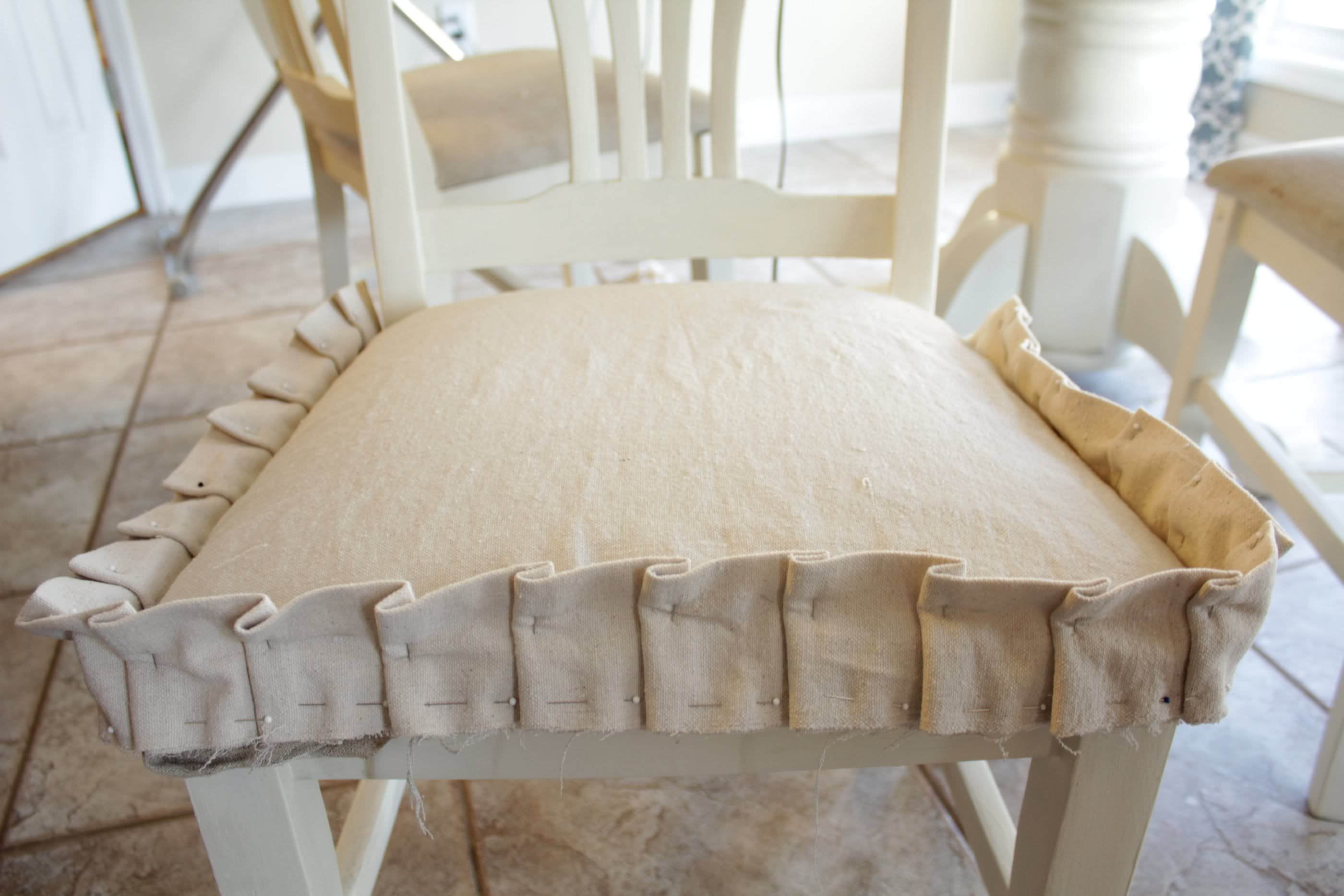 Dining Chair Slipcover Tutorial Easy Sewing Crafts