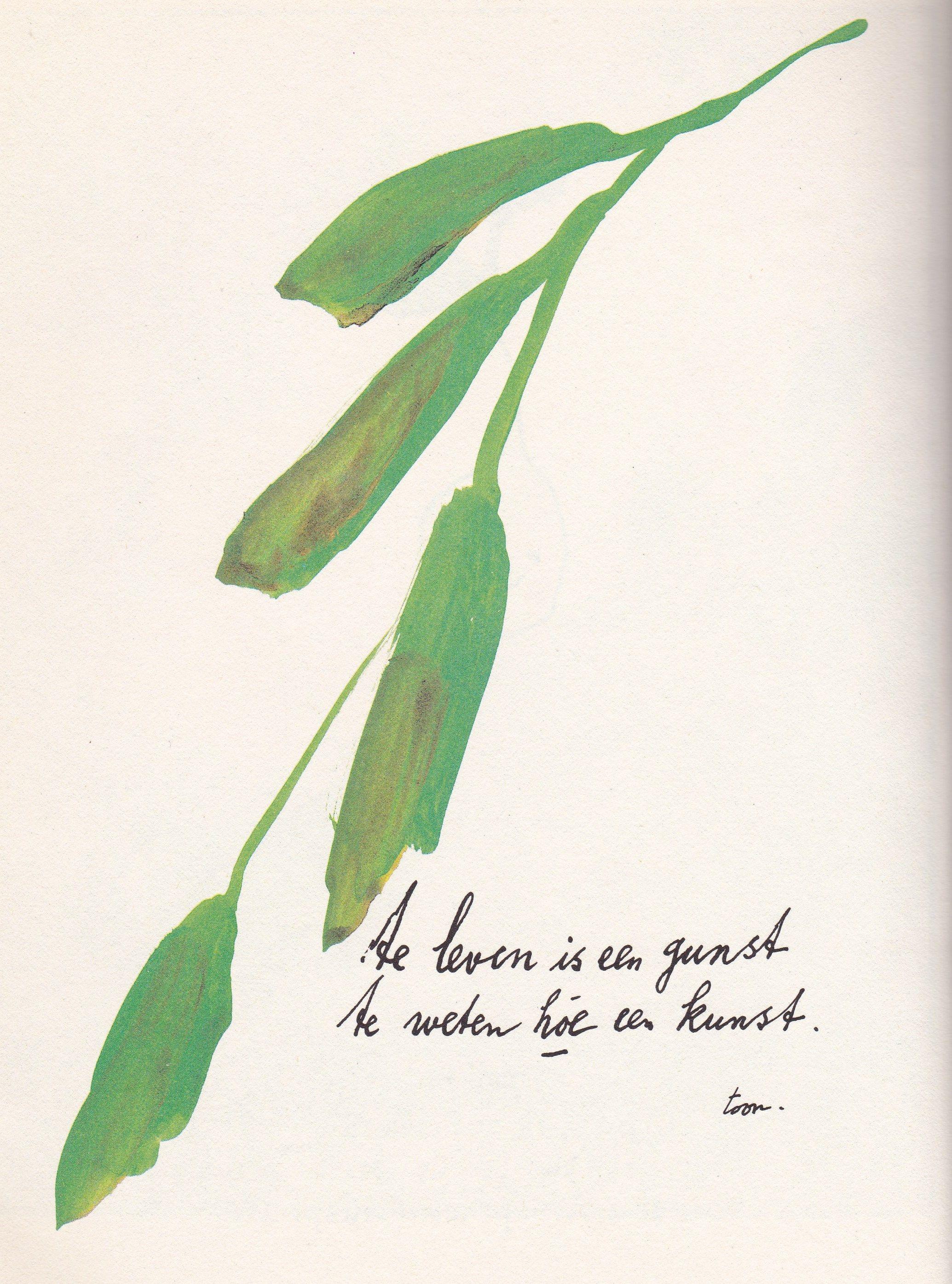 Citaten Over Kunst : Kunst van leven door toon hermans dichter mooie