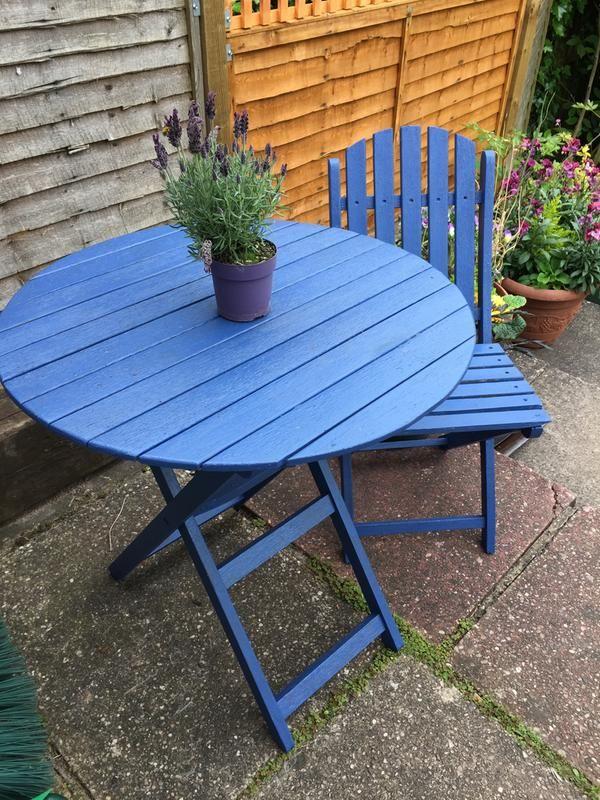 Ronseal Garden Bluebell Matt Garden Paint 0.75L   Pinterest