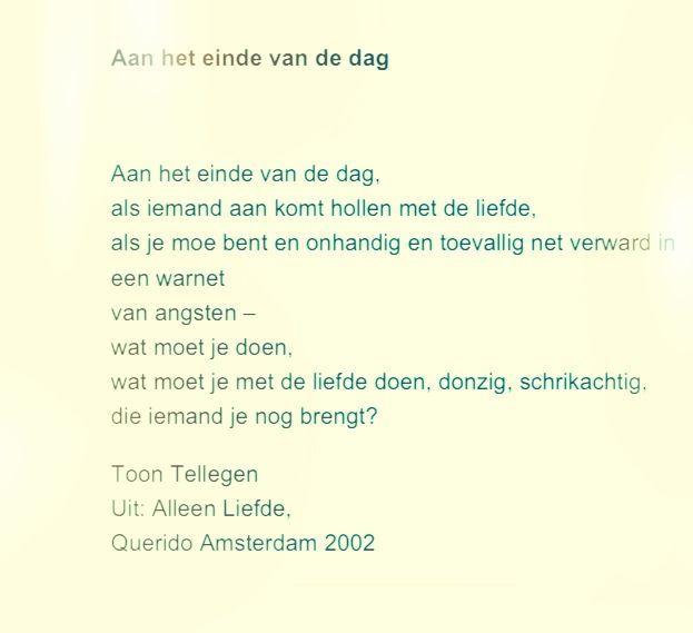 Gedicht Toon Tellegen Google Zoeken Poezie