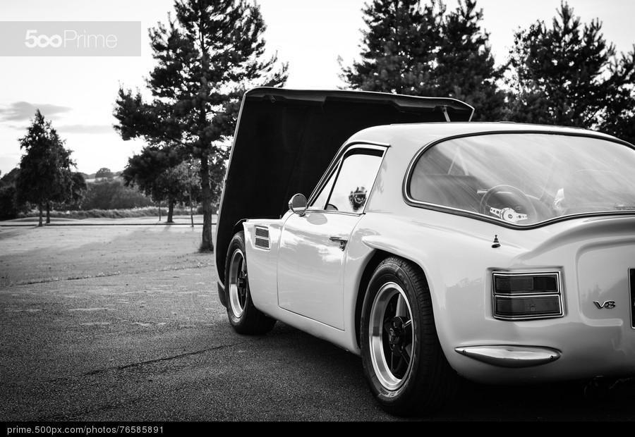 Tuscan V8 B&W by Mark Gilroy | 500px Prime