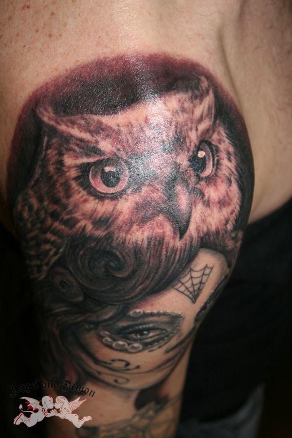 Tattoo Tattooshop Angelanddemon Bodyart Bodytattoo Ink