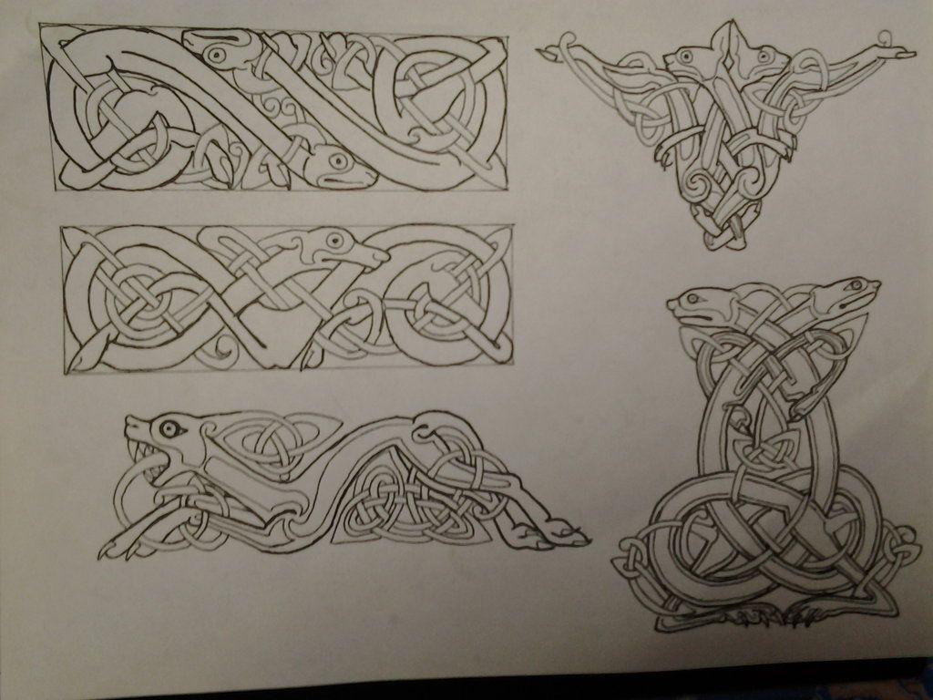 Fenrir Norse Mythology Symbol | www.imgkid.com - The Image ...