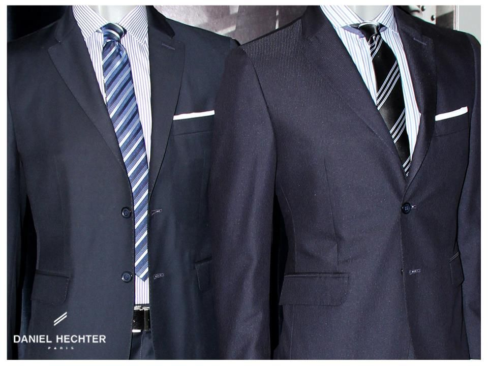 Estilo #Moda #Hombre #Daniel #Hechter #Traje #Formal #Camisa ...