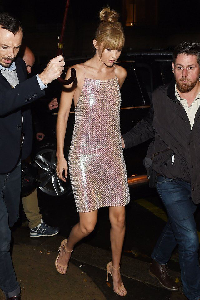 From Kate Moss To Kendall Jenner How The Chain Mail Dress Became