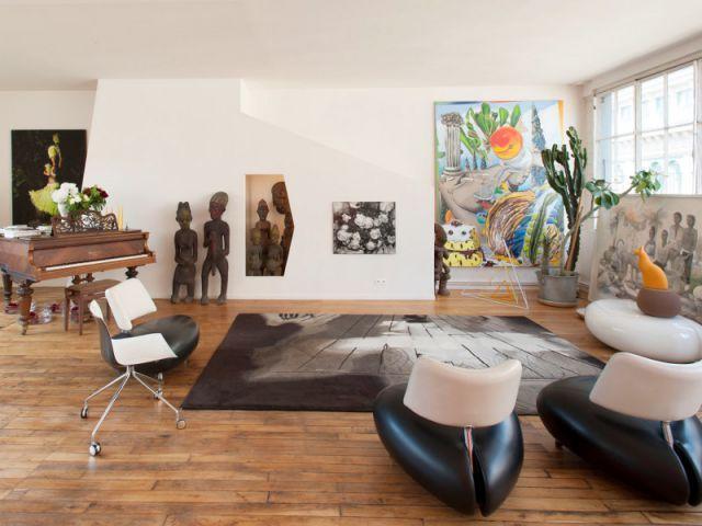 Appartement, le loft galerie d'art