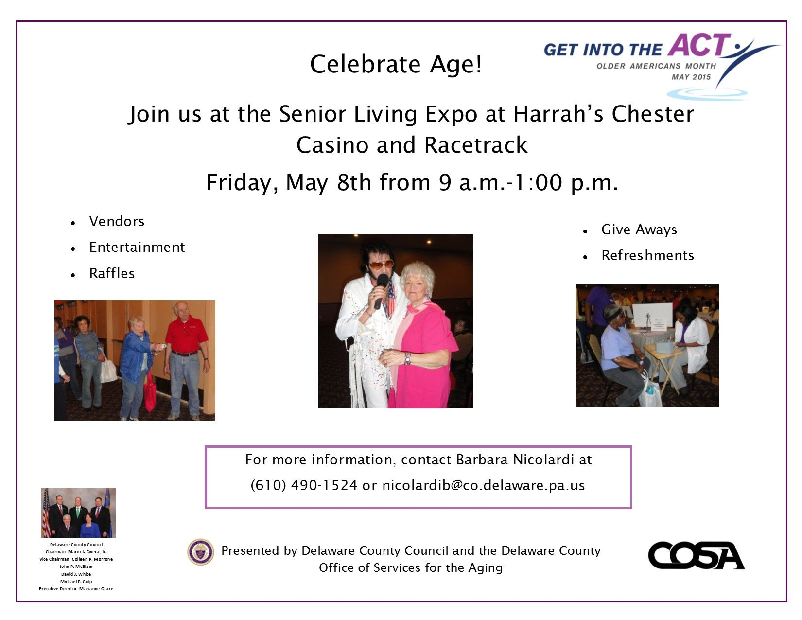 2015 Cosa Senior Fair Delaware County Office Of Services For The