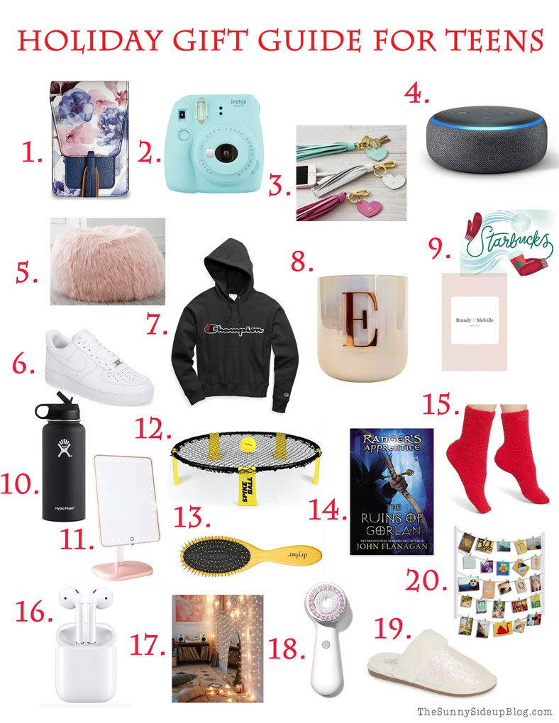 Teen Gift Guide (and a fun new sign