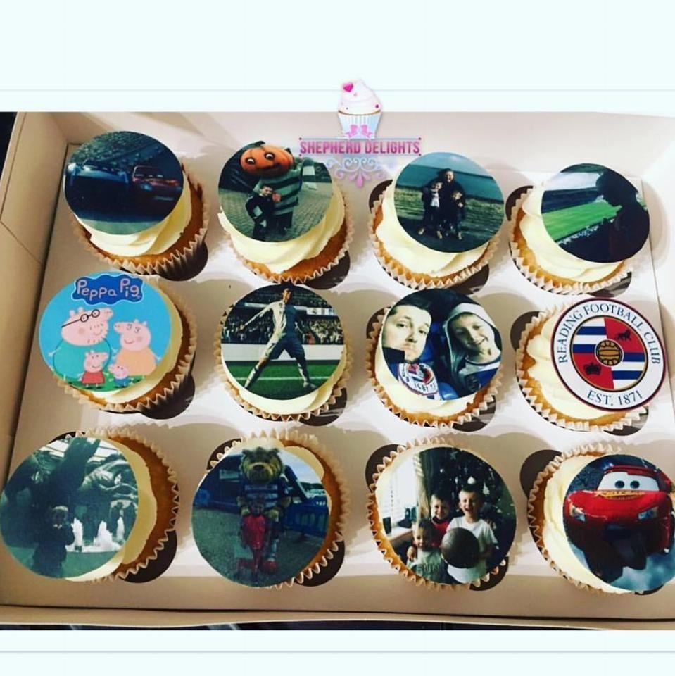 Personalised Edible Print Cupcakes Personalised Cupcakes Edible Printing Honey Cupcakes Recipe