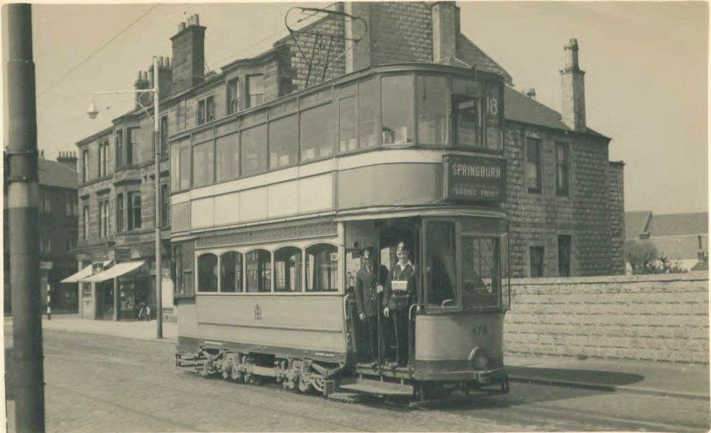 Dukes Road Tram Terminus Burnside Glasgow Train Tram