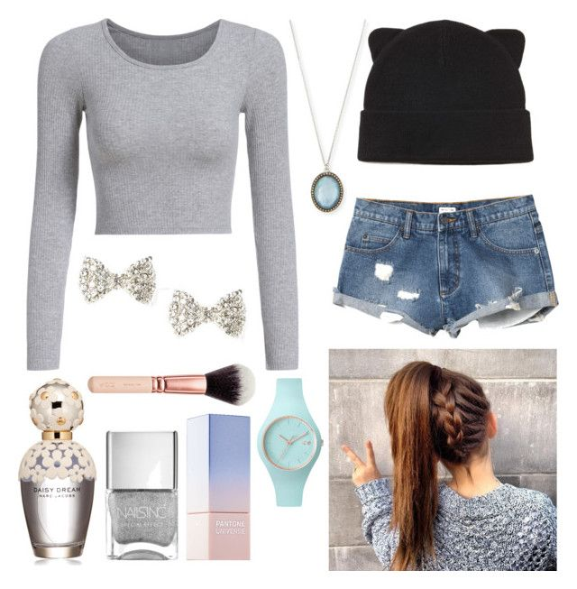 """Girly"" by pandas801 ❤ liked on Polyvore featuring Armenta, RVCA, Forever 21, Ice-Watch, Marc Jacobs and Sephora Collection"