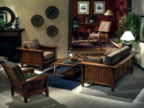 Elegante Diseño de Muebles tradicionales para el Living Room