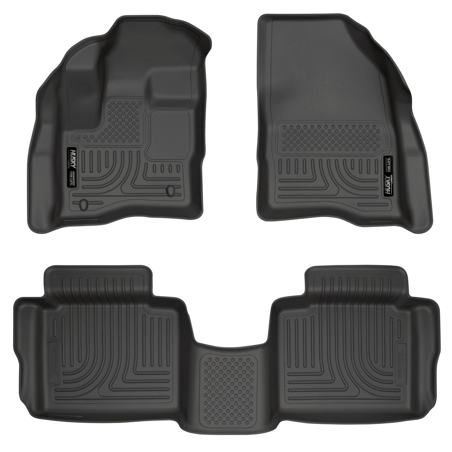 Husky Liners 98701 Black Weatherbeater Front And 2nd Seat Floor Liners Fits 2010 19 Ford Taurus Visit The Image Link Husky Liners Floor Liners Cargo Liner