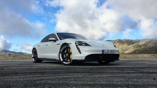 First Drive Review 2020 Porsche Taycan 4s Drifts Into A Thrilling Future Porsche Taycan Porsche First Drive