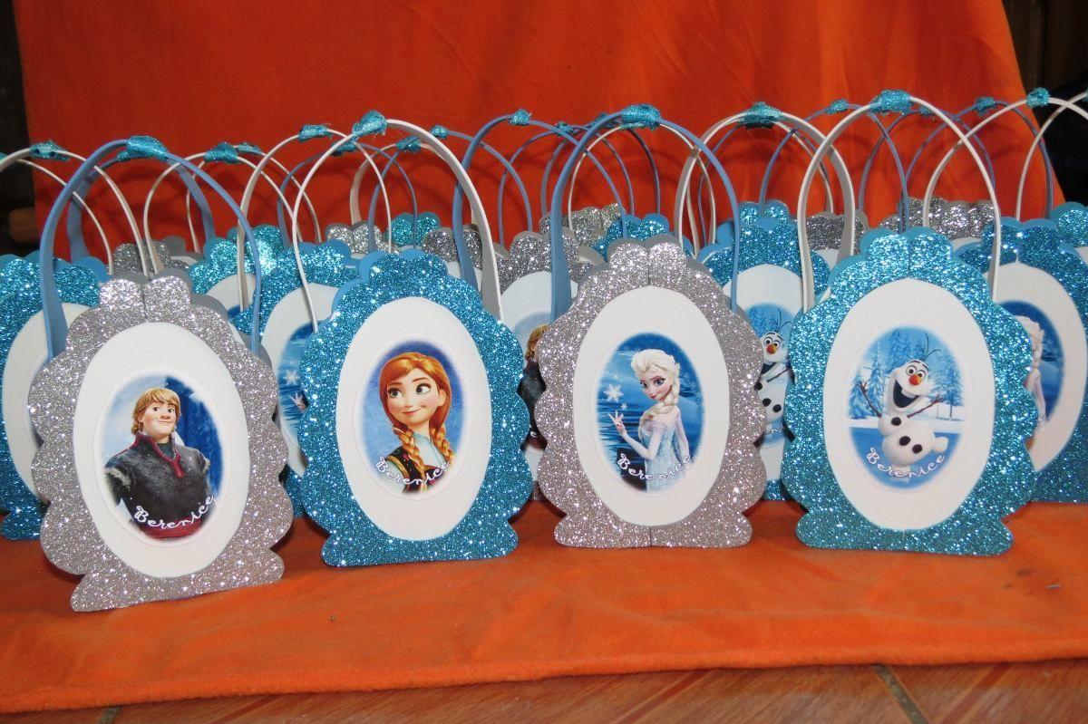 ecef65ac3 Resultado de imagen para cotillones para niños con material reciclable  Bolsitas De Frozen, Bolsitas De
