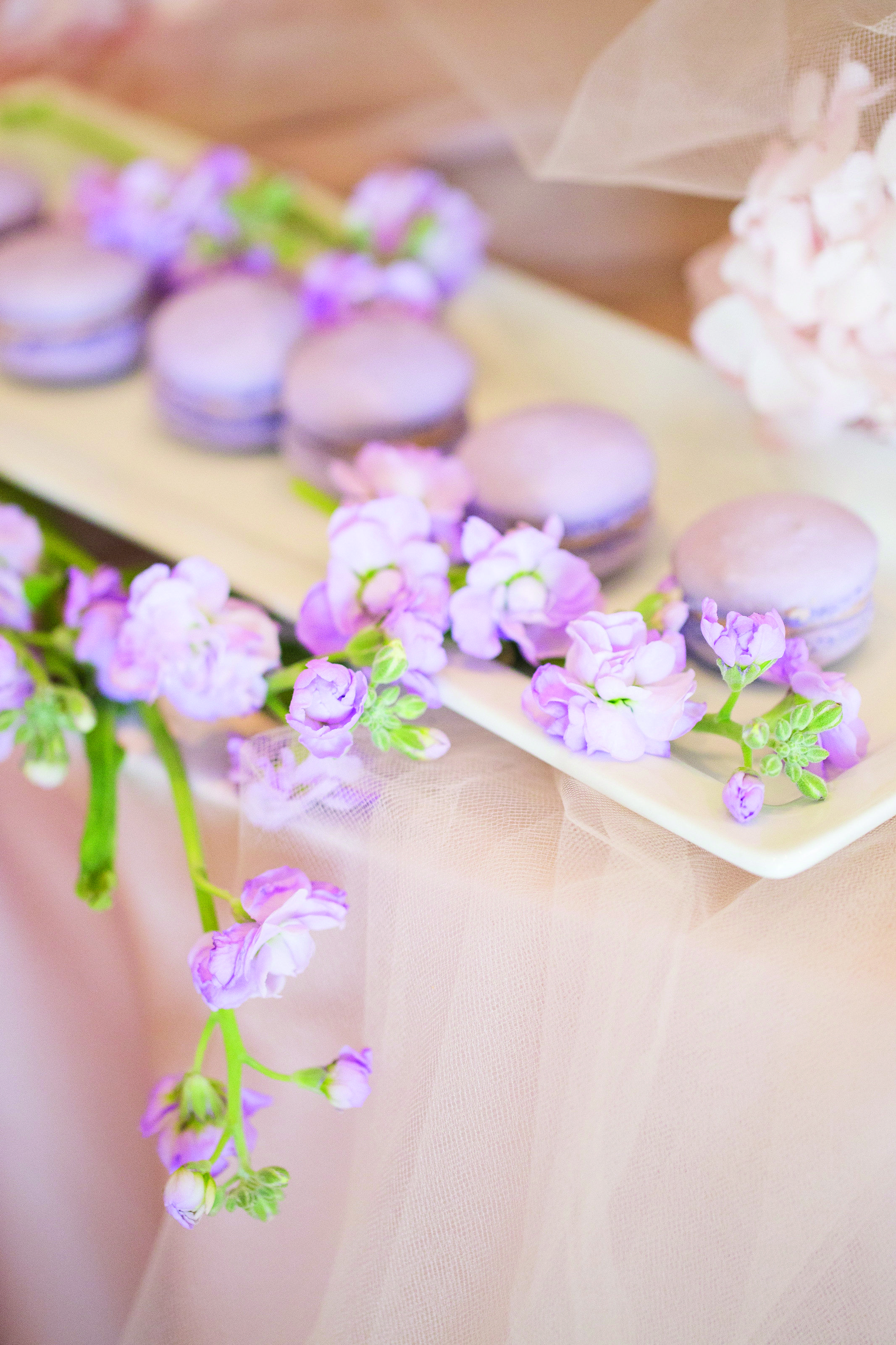 Boho Glam | At First Blush | Planner, Stylist, Creative Director: Le Chic Soiree | Planner, Stylist, Creative Director: Le Chic Soiree | Macarons: Macaronz | Floral Design & Decor: Royal Orchid Florist | Photo: Crystal Hahn Photography | Wedding Decor