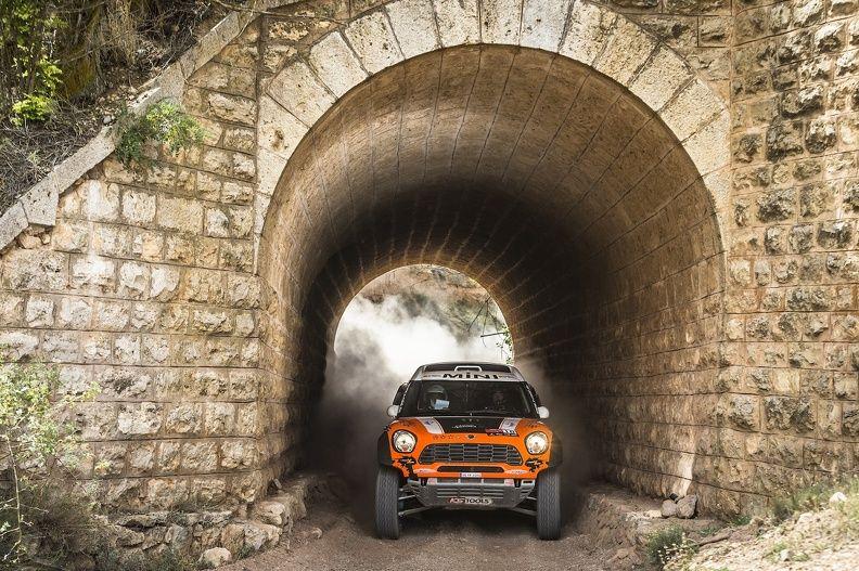 Orlando Terranova, MINI ALL4 Racing, X-raid, Spanien, Spain