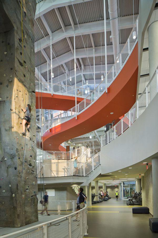 Auburn University Recreation & Wellness Center on Behance